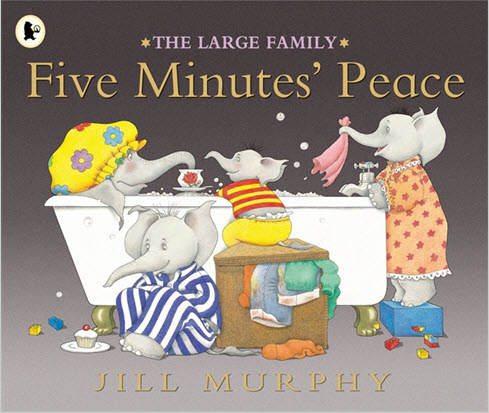 Five Minutes Peace by Jill Murphy