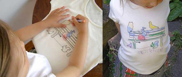 colour in tees