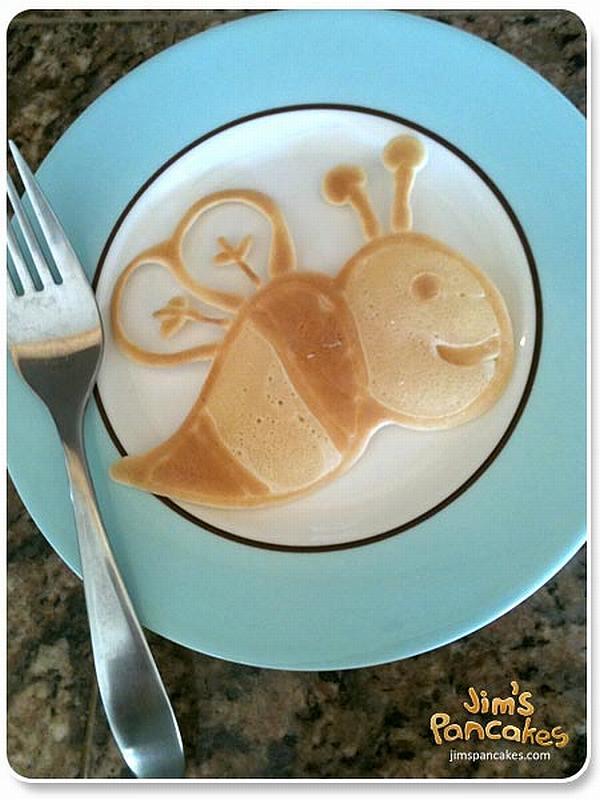 Jim's pancakes website - bee