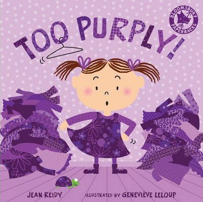 Too Purply by Jean Reidy