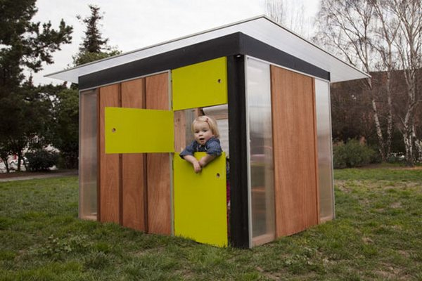 Big Brother Backyard Really Outside : So many cubby houses, you?ll need to build a village