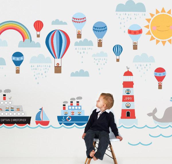Brilliant Hot Air Balloons Wall Decals 600 x 570 · 51 kB · jpeg