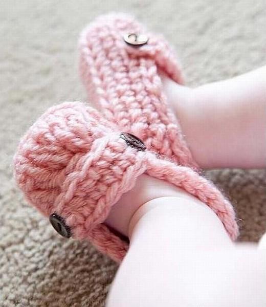 My Friend Matilda's baby booties