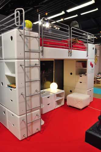 Cod Cub Playtime Paris, kids bedroom furniture