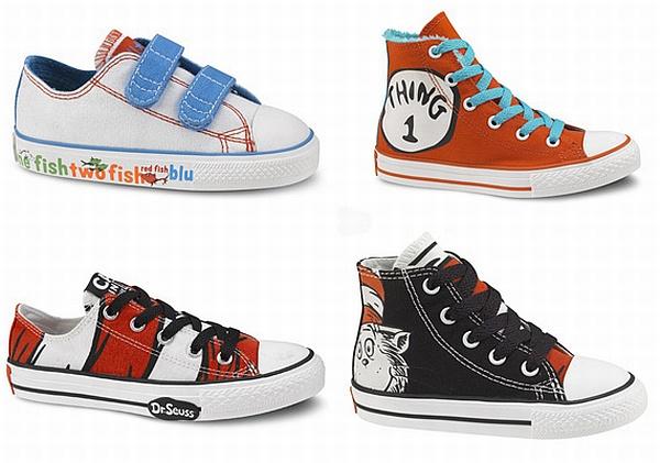 Converse Dr Seuss kids shoes
