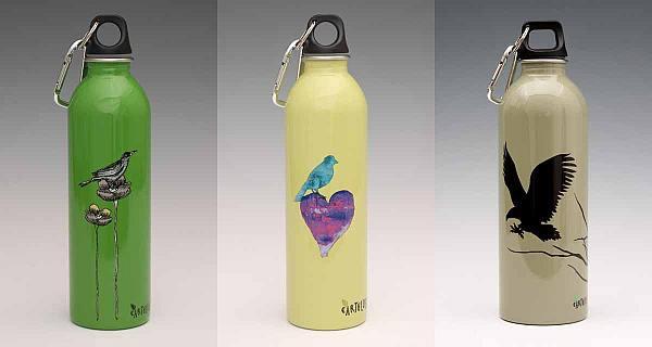 Earthlust drink bottles
