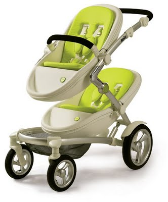 kobi7 Kobi   the amazing new twin pram