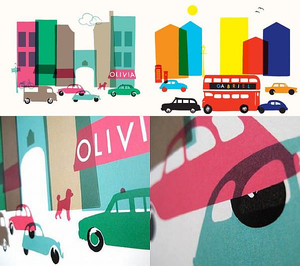 Ruka Ruka personalised city prints