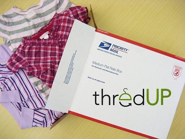 Thredup Used Kids Clothing website