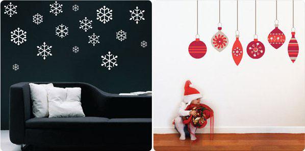 Xmas Wall Decoration Ideas: 'Tis The Season For Fuss Free Designer Decorating