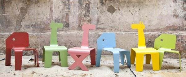 Zelig animal chairs