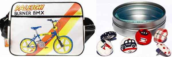Father's Day Bike Bag Buttons