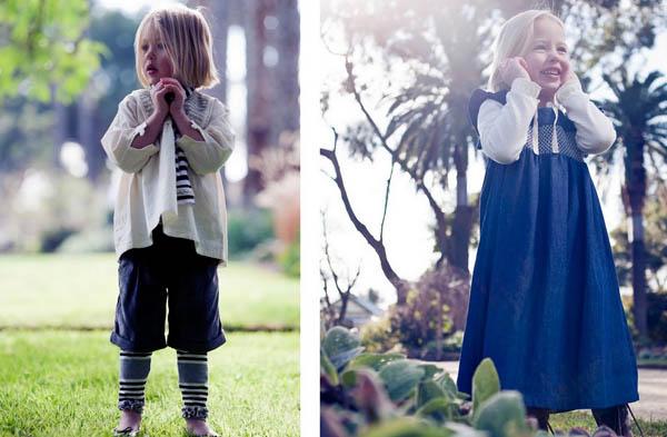 Lucy smocked dress, lulu leggings