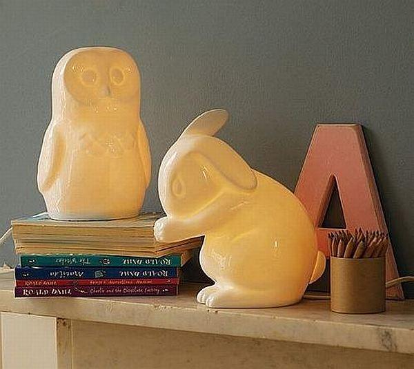 White Rabbit England animal nightlights