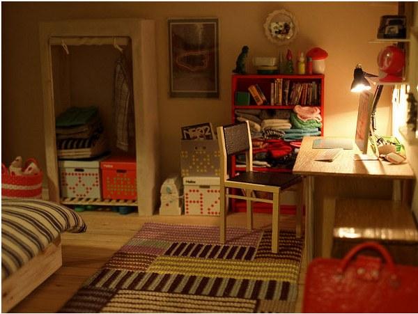 Gunter's 'share house' doll house