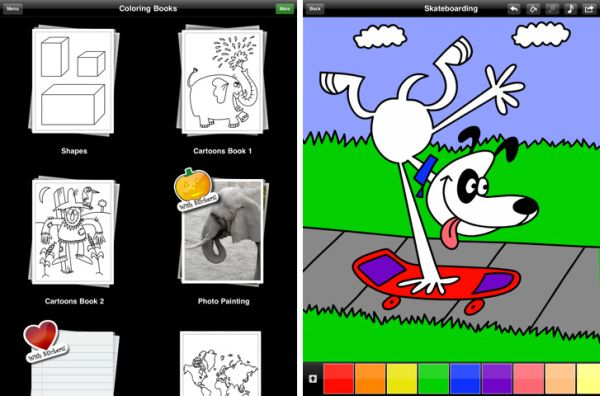 123 Color app Kid friendly apps for iPad fun