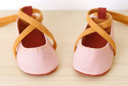 LaLa Shoes baby ballet slippers