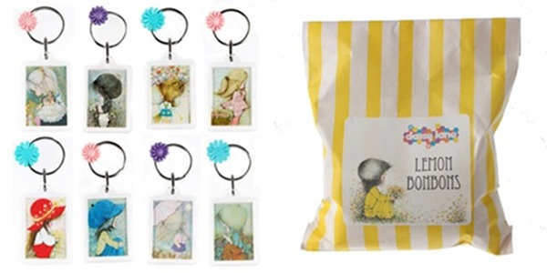 Daisy lane collector cards sweets keyrings