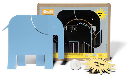 Night Night Light by Clifford Richards for The Original Metal Box Company