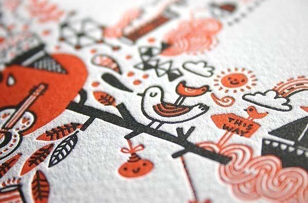 screen printed art