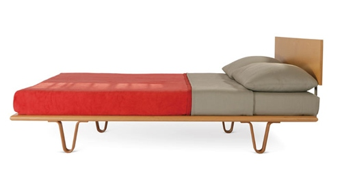 V-leg Bed by YLiving