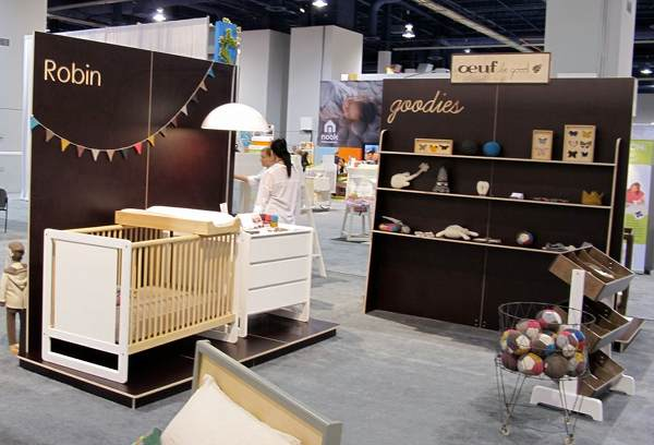 ABC Kids Expo Oeuf cot