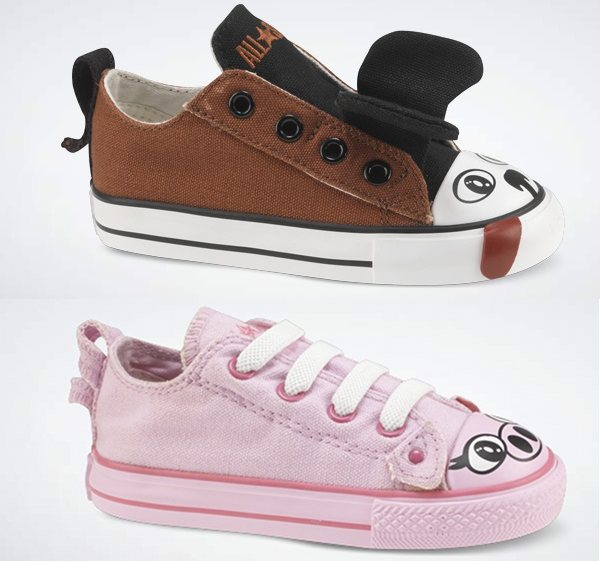 Converse animal shoes trainers sneakers