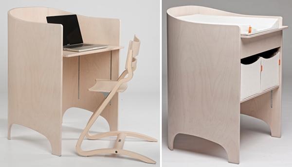 Leander change table desk