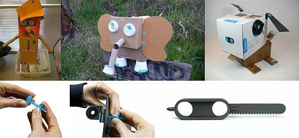 Makedo craft connectors