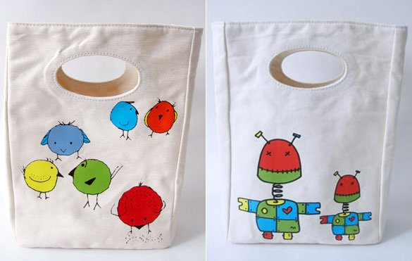 Fluf lunch bags back to school daycare