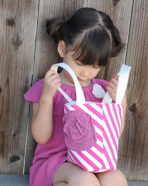 Merah Muda mini tote bag girl child handbag bag