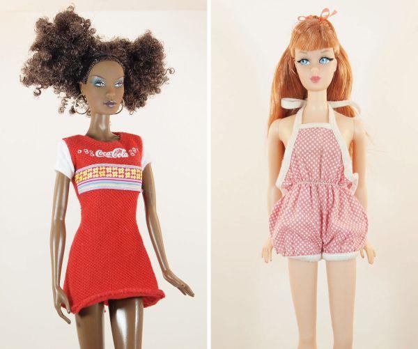 vintage Barbie fashions