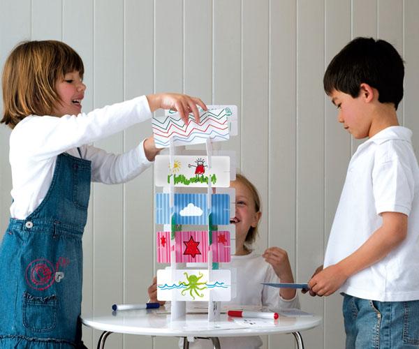 Toetum Kids Art Tower