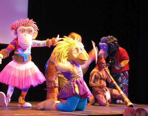 Zingzilla launch at Sydney Opera House