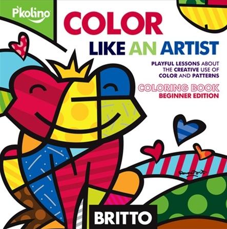 Britto colouring book