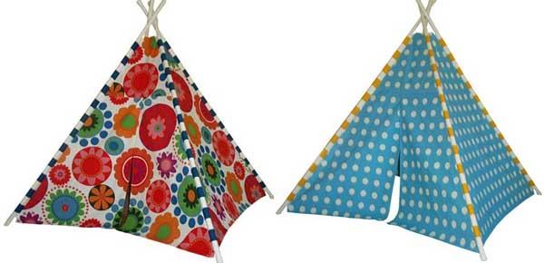 fabric teepee tent
