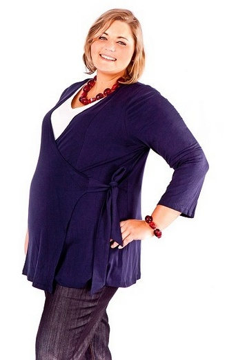 plus size maternity wear