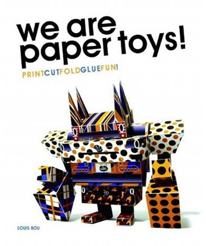 we are paper toys Louis Bou