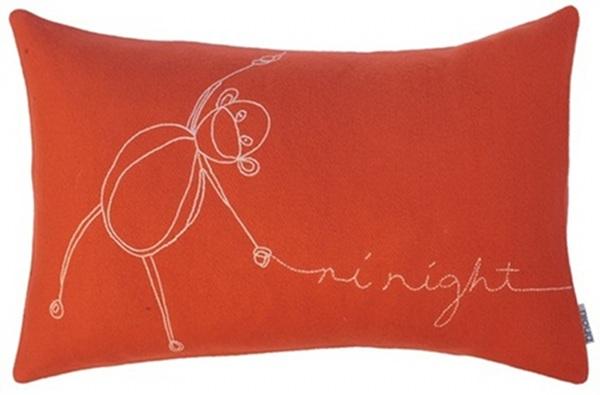 bholu cushions orange mavis monkey 2010 2011
