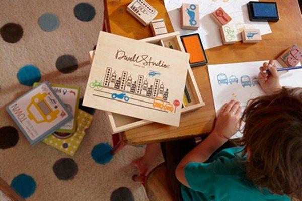 dwell studio stamp kits christmas
