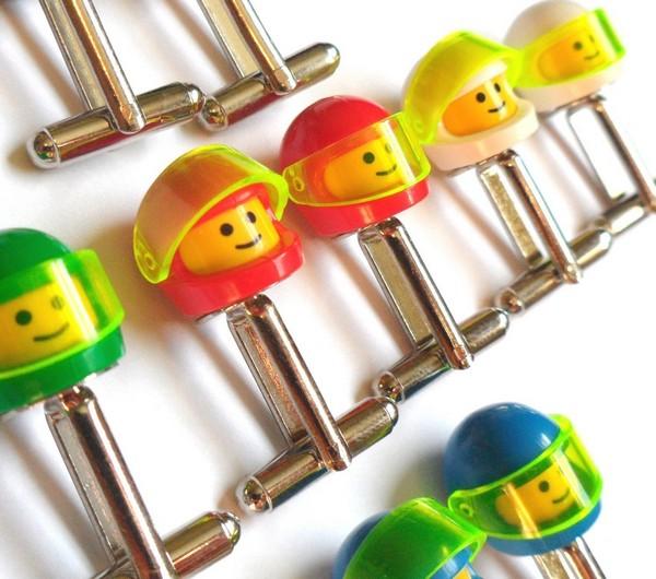 Etsy Cufflinks Lego