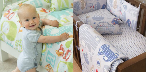 organic cotton baby bedding