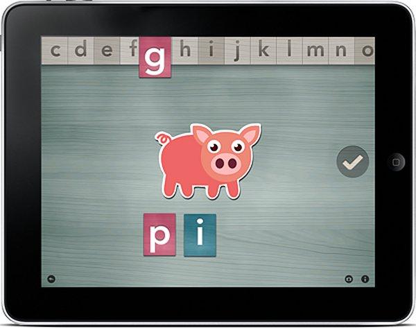 Alpha Writer Montessorium iPhone iPad App Montessori