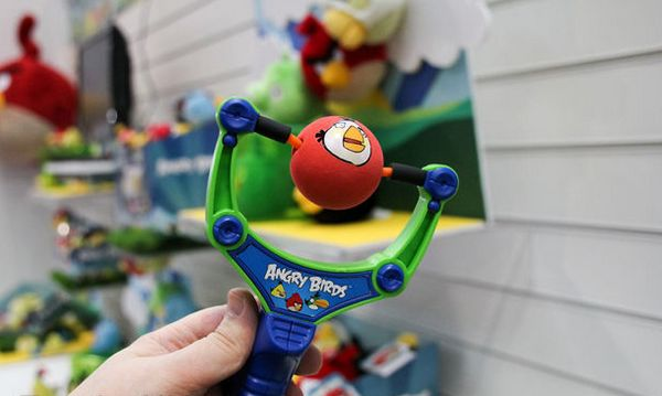 Angry Birds catapult