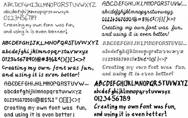 free font national handwriting day