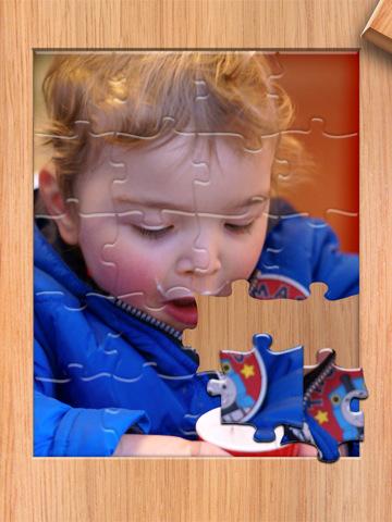 Jigsaw Junior ipad app