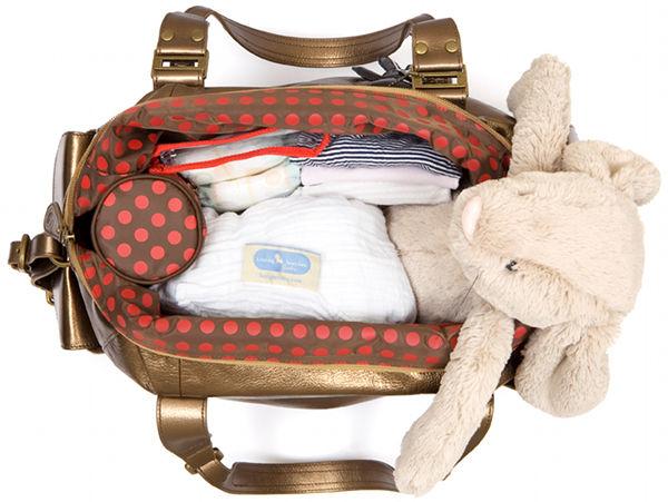 il tutto nico bronze limited edition nappy bag diaper bag