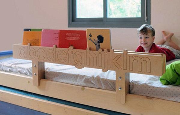 tambino bedrail bookshelf
