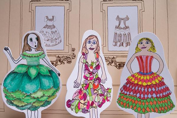rosie flo's fashion show lark