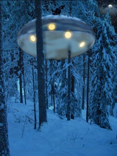 Tree Hotel Sweden UFO